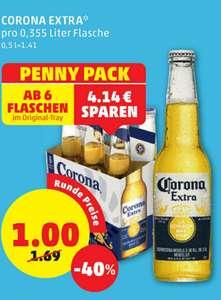 CORONA flüssig € 1,- pro Flasche ab 6 Stück beim Penny