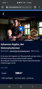 Film über Johannes Kepler