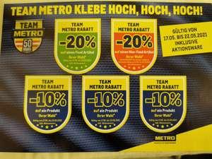 Team Metro Rabatt - 10% - 20%