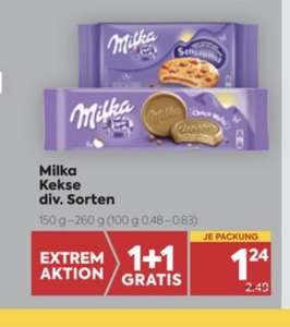 Milka Kekse Div. Sorten um € 1,24 bei Billa(Plus)