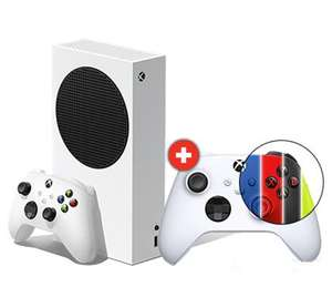 Xbox Series S + zusätzlicher Controller (Farbe wählbar)