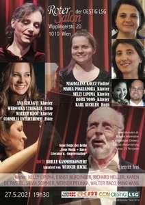 """(1010 Wien) GRATIS Kammerkonzert """"Die Rote Brille"""" - am 27.5.2021"""
