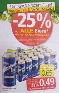 Wieselburger Gold Dosenbier 0,5 bei Spar, Euro- u. Interspar