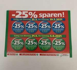 Spar -25% Rabattsticker [25.5-29.5, 31.5-5.6]