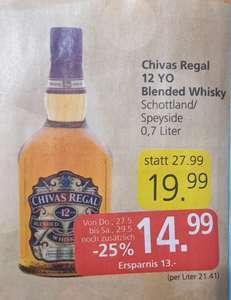 -25% auf ALLE Spirituosen bei Spar, Inter- u. Eurospar z. Bsp. Whisky Chivas Regal 12 Jahre