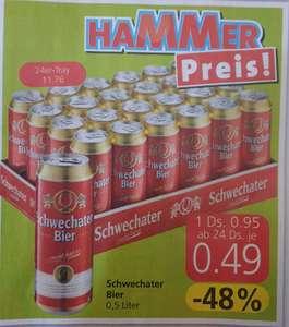 Schwechater Dosenbier 0,5 in Aktion bei Spar, Inter- u. Eurospar
