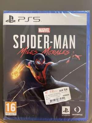 [Lokal MediaMarkt St. Lorenzen] Spider-Man Miles Morales PS5