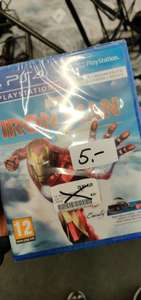 Iron Man VR für die PS4 VR um 5 Euro bei MediaMarkt Wien Mitte