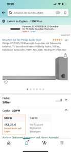 Philips HTL3325/10 Bluetooth Soundbar