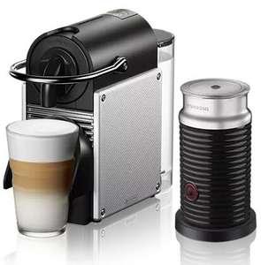 DeLonghi Pixie Nespresso Maschine + Aeroccino Milchschäumer + 20€ Nespresso Gutschein