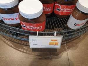 Nutella 700g Glas € 2.39 beim PLUS/Billa mit -25% Sticker