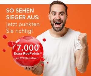 Shop Apotheke 7000 Redpoints ab 69€ (=-7€ auf nächste Bestellung)