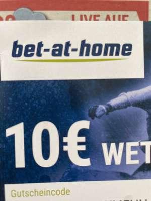 €10 bet-at-home Wettgutschein (auf der heutigen OE24 Ausgabe)