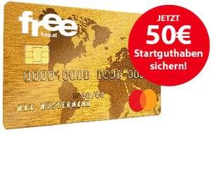 Free.at: 50€ Startguthaben sichern