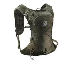 Salomon XT 6 Trailrunning Rucksack, grün od. blau, + Trinkflasche