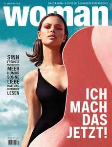 Aktuelle Woman Ausgabe als kostenloses PDF
