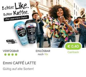 [Marktguru und (Euro/Inter)Spar] Emmi Caffe Latte bis zu 10x um 34cent