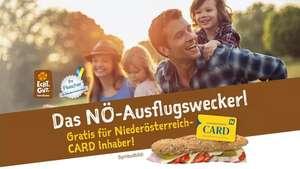 """Gratis """"Ausflugsweckerl"""" für Niederösterreich-CARD Inhaber anstatt 3,50 Euro"""