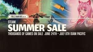 Steam Summer Sale - 14 Sticker gratis + Games zum histor. Tiefstpreis zB: Ryse 2,49€ - Left 4 Dead 2 1,63€ - Mass Effect Andromeda 7,49€