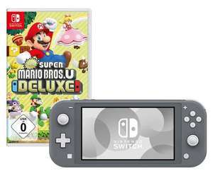 Nintendo Switch Lite + New Super Mario Bros. U Deluxe