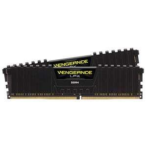 Corsair Vengeance LPX schwarz DIMM Kit 16GB, DDR4-3600, CL18