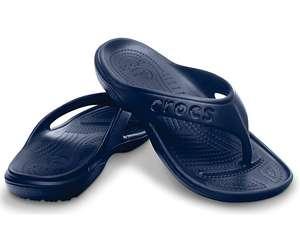 Crocs Baya FlipFlops ins Blau oder Schwarz & vielen Größen