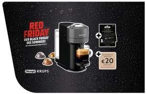 Nespresso Vertuo Next 59,- inkl. 2x20 Euro Nespresso Gutscheine