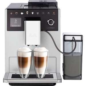 Melitta Latte Select Kaffeevollautomat, silber