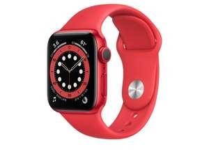 Apple Watch Series 6 (GPS), 40 mm, rot mit Sportarmband