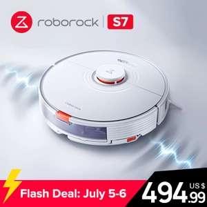 Roborock S7 Roboter-Staubsauger mit Wischfunktion