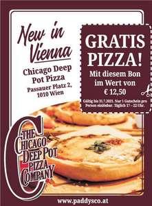 Lokal (Wien) Gratis Pizza bis 31.08.2021 mit Gutschein (in HEUTE)