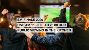 Gratis Liegestuhl für die ersten 50 Besucher beim EM Finale Public Viewing im Donauzentrum