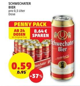 Schwechater ab 24 Dosen 0.59€ beim Penny 15.07.-21.07.