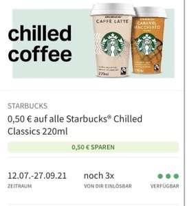 Starbucks Kaffee mit Coupies