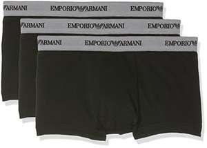 3x Emporio Armani Herren Shorts (schwarz oder bunt, alle Größen)
