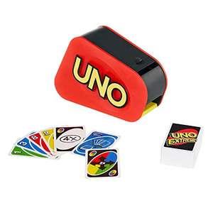 Mattel Games - UNO Extreme! Kartenspiel mit Zufallsschleuder