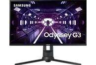 SAMSUNG Gaming Monitor Odyssey G3, 24 Zoll, FHD, 144Hz, 1ms, 250cd, VA, Schwarz