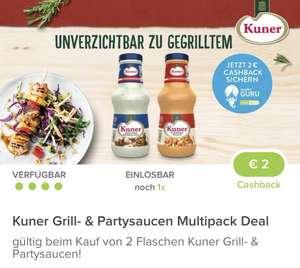 Kuner Saucen 2 Stück um 0,38€