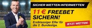 Interwetten: 11€ Gratis Wettguthaben