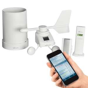 Techno line MA10050 Mobile Alerts Wettervorhersage-Center Digital