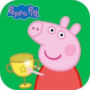 """Peppa Pig: Sporttag"" (Android/iOS) gratis im Google PlayStore od. Apple AppStore - ohne Werbung / ohne InApp-Käufe - SAUberes Game für Kids"