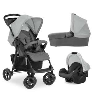 Baby Markt - Rabatt Gutscheine 5€/ 10€/ 20€/ 30€/ 50€/ 70€ z.B. Hauck Shopper Kinderwagen 3er Set grau 106€ PVG 160,99€