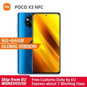 Xioami Poco X3 NFC 6+64GB schwarz od. blau