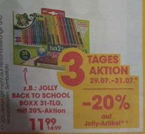 -20% auf Jolly Artikel 29.07.-31.07. bei Libro