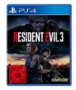 """""""Resident Evil 3 - 100% UNCUT"""" (PS4) (an Abholstation schicken = kein Versand ohne Prime und beim ersten Mal evtl. auch noch 5€ sparen)"""