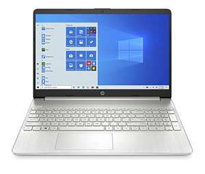 HP 15s-eq1118ng (15,6 Zoll / FHD) Laptop (AMD Ryzen 3 4300U, 8GB DDR4 RAM, 256GB SSD, AMD Radeon Grafik, Windows 10, QWERTZ-Layout) silber