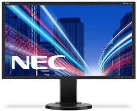 "(Gebrauchtware / Grade A) NEC MultiSync E223W-BK, 22"" Monitor"