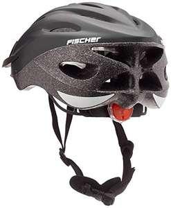 """Fischer """"Shadow"""" Einsteiger-Fahrradhelm mit Rücklicht - Größe L/XL (58 - 61 cm)"""