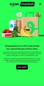 mjam market 10 Euro-Gutschein (15 Euro MBW, nur in ausgewählten Bezirken)