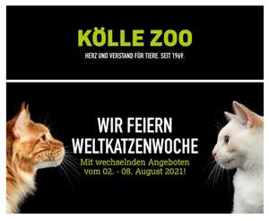 1 Kommentar-> 1 kg Spende Katzenfutter/ 15€ Tierheimadoptionsgutschein Köllezoo